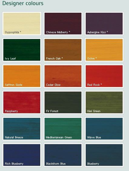 Dulux trade classic select woodstain custom mixed colours - Exterior wood paint colours plan ...