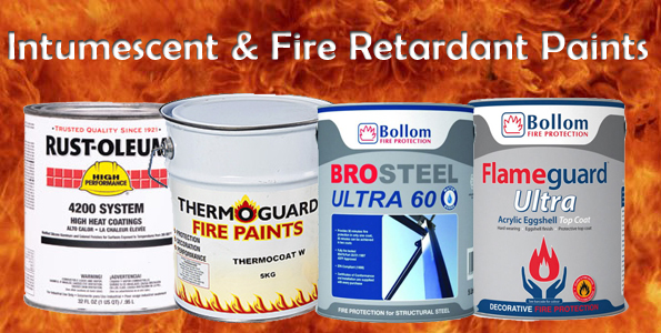 fire retardant paint banner