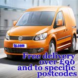 Free delivery over 90 pounds and to specific postcodes
